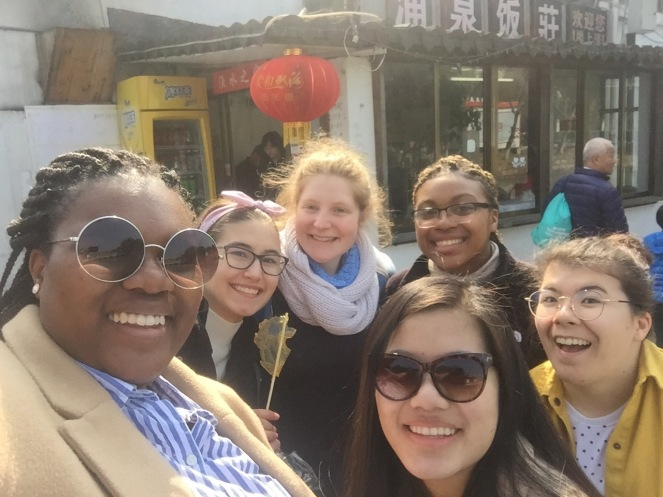 A group of us in Zhujiazhao