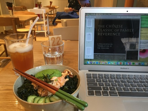 Poke and studying