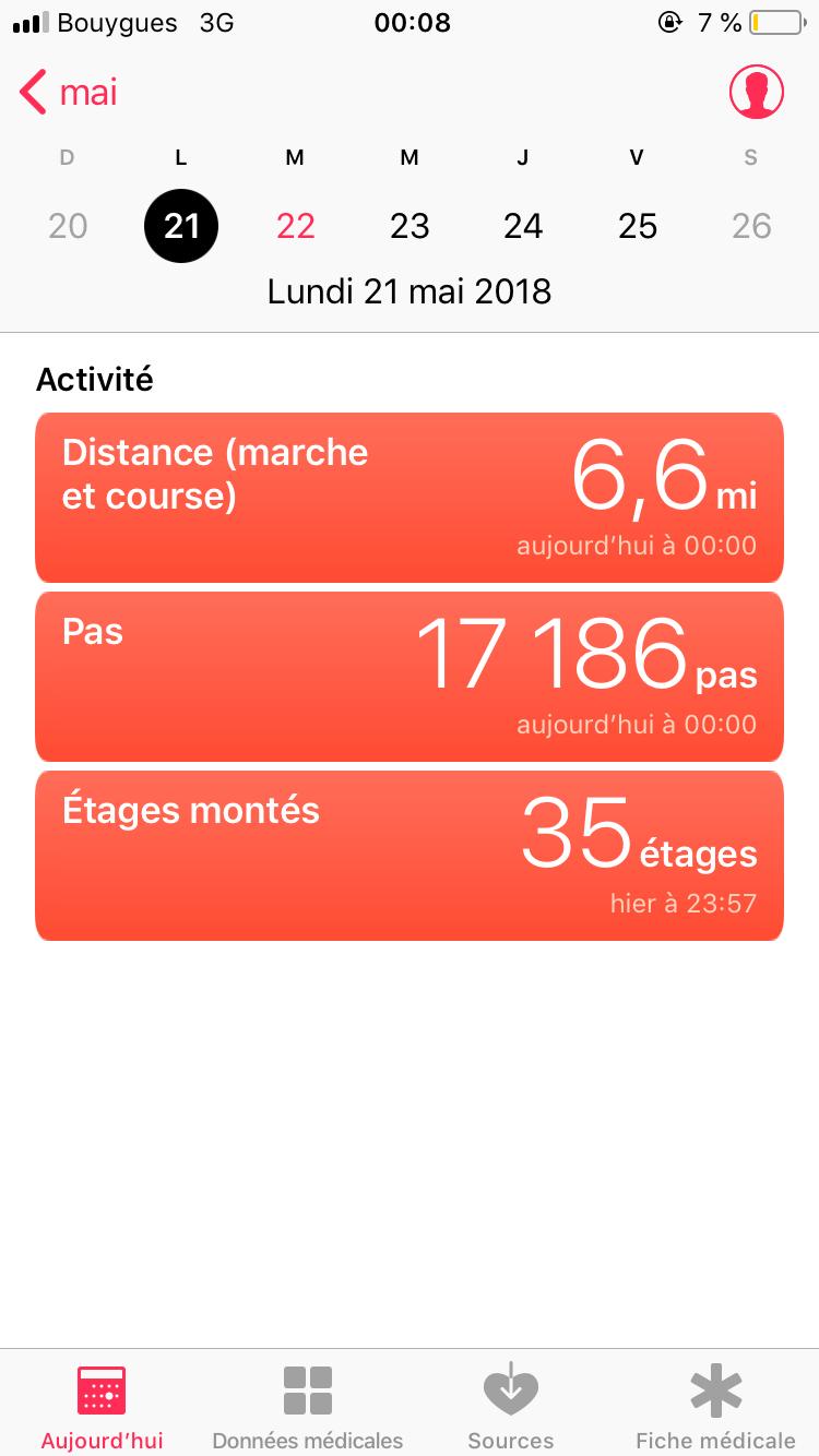 steps screenshot