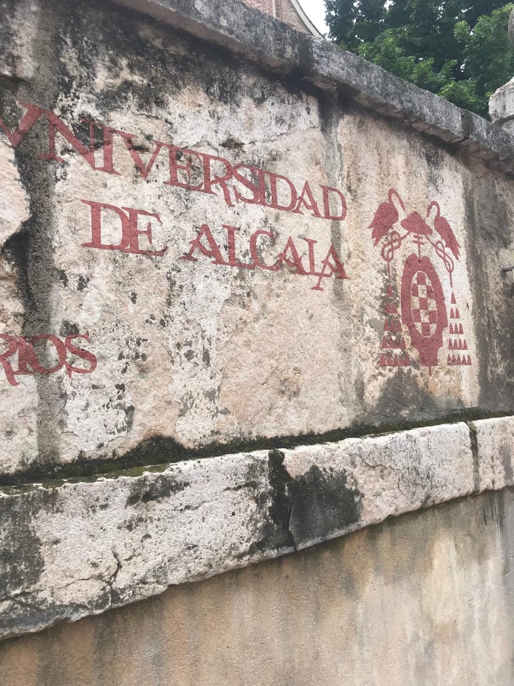 Universidad de Alcala sign